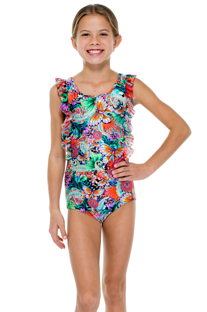 VIVA CUBA - Ruffle One Piece • Multicolor