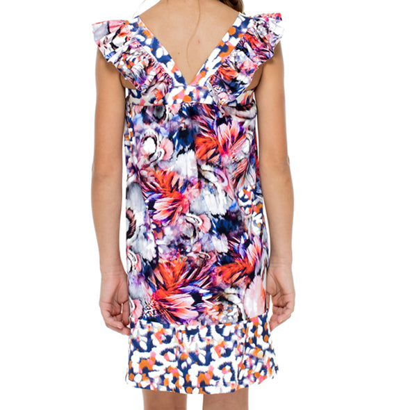 CIENFUEGOS - Ruffle Short Dress