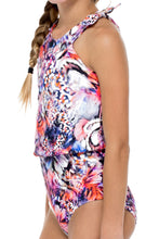 CIENFUEGOS - Flouncy Knot One Piece • Multicolor