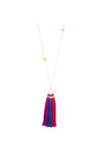 TAUDREY - Tambores Necklace • Multicolor