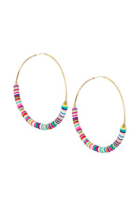 TAUDREY - Despacito Hoop Earrings • Multicolor
