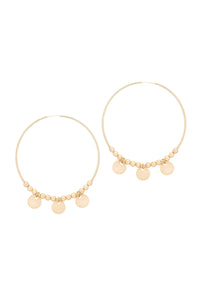 TAUDREY - Gitana Earrings • Gold