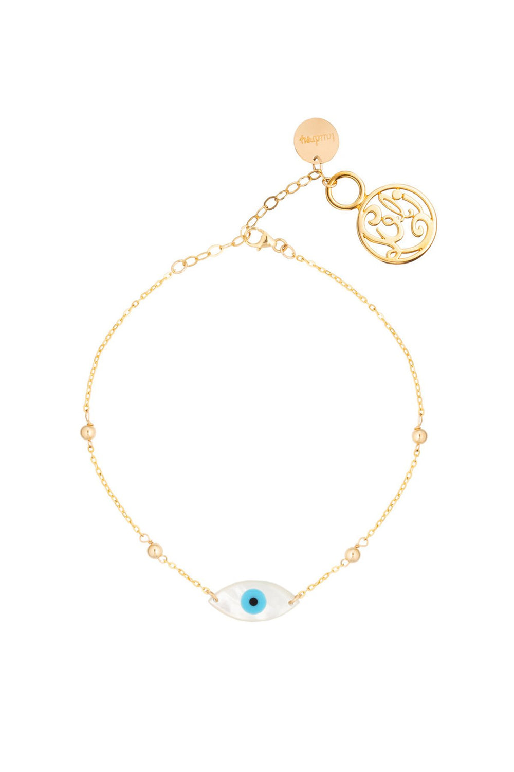 TAUDREY - Anklet • Turquoise