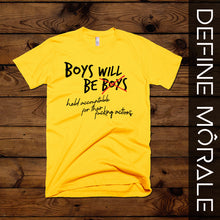 Boys will be held Accountable - (Gold) Short-Sleeve Unisex T-Shirt