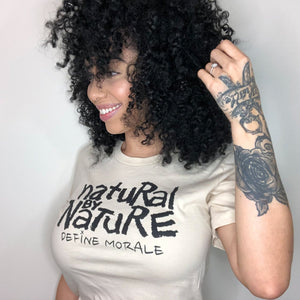 Natural By Nature - (Cream) Short-Sleeve Unisex T-Shirt