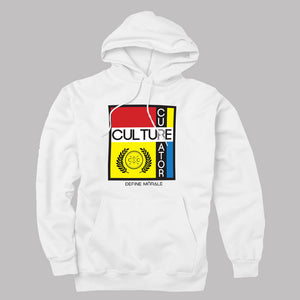 Culture Curator - (White) Unisex Hoodie