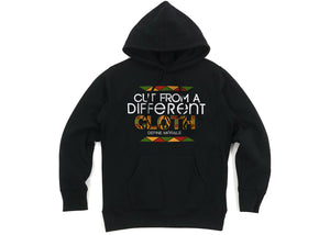 Cut From a Different Cloth - (Black) Unisex Hoodie