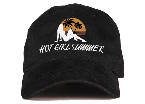 Hot Girl Summer - (Black) Dad Hat