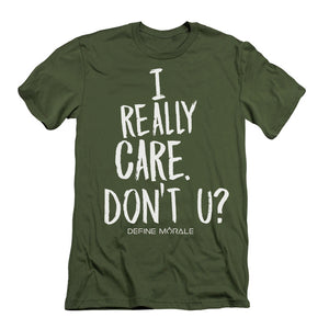 I Really Care - Short-Sleeve Unisex T-Shirt