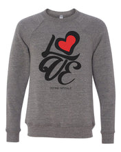 Love Formation - Tri Blend Raglan Crew Sweatshirt