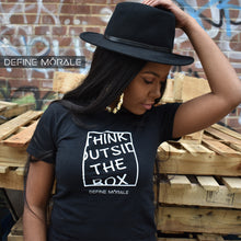 Outside The Box - Women's Slim Fit T-Shirt