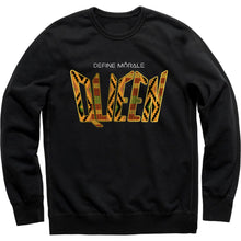 Nubian Queen - (Black) Classic Fit Sweatshirt