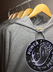 Power People (Grey) - Unisex Hoodie