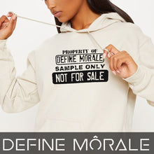 Sample Property Not Fpr Resale - (Cream) Unisex Hoodie