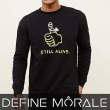 Still Alive - Unisex California Fleece Raglan Sweatshirt