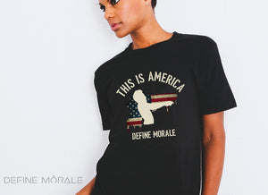 This Is America - Short Sleeve Women's T-shirt