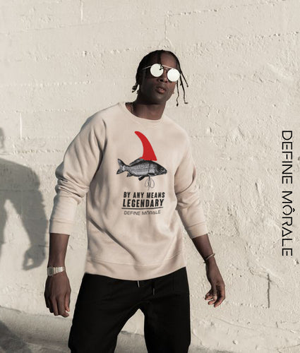 Big Fish - (Sand) Unisex Sweater