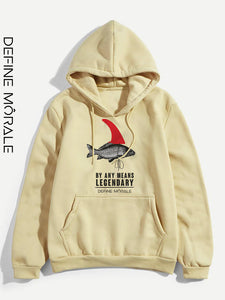 Big Fish - (White & Sand) Unisex Hoodies