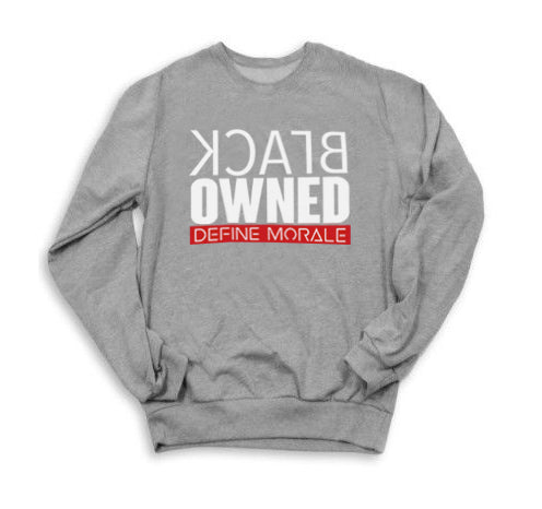 Black Owned - (Grey) Unisex Sweatshirt