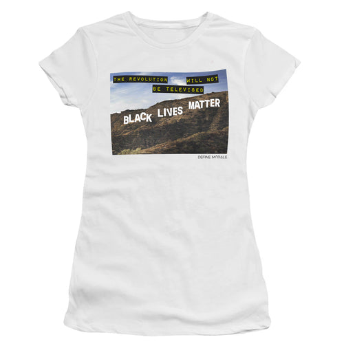 Black Hollywood (White) - Women's T-Shirt