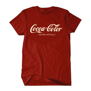 Cocoa Color - (Red) Unisex Tee Shirt