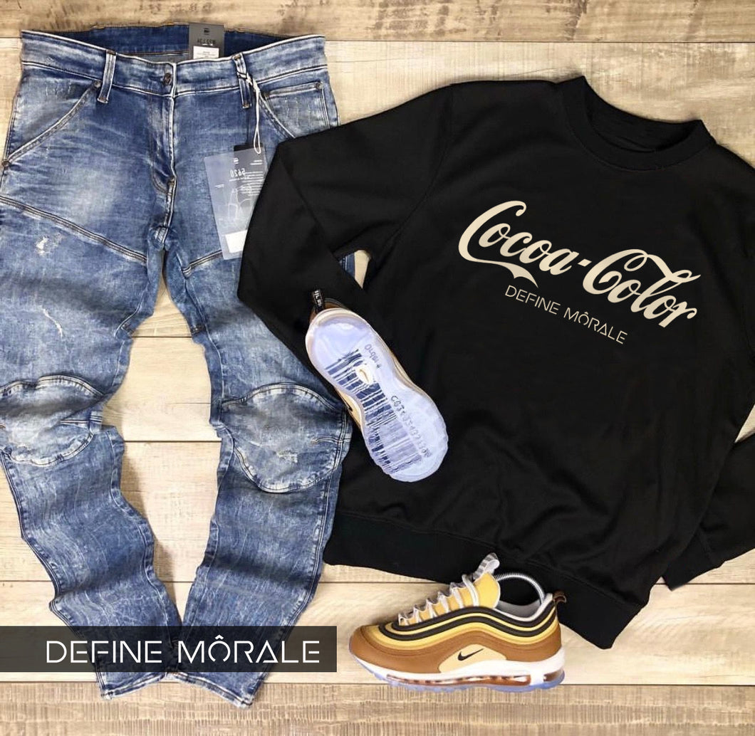 Cocoa Color - (Black) Sweatshirt