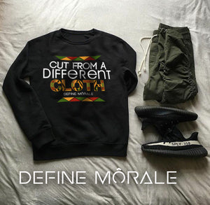 Cut From a Different Cloth - (Black) Unisex Sweatshirt