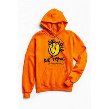 Give Love or Die Trying - (Orange) Unisex Hoodie