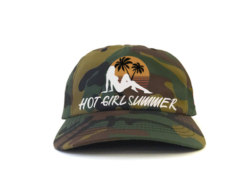 Hot Girl Summer - (Camo) Dad hat
