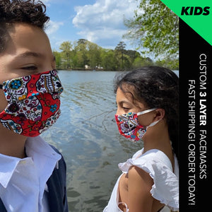 Kids Size Custom Facemasks