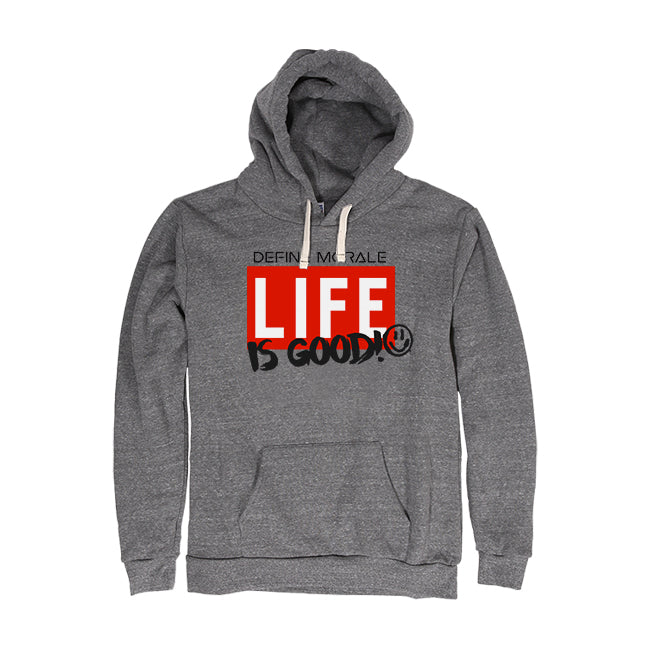 Life Is Good - (Grey) Unisex Hoodie