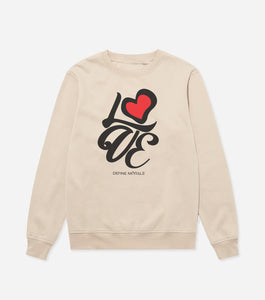 Love Formation - (Sand) Unisex Sweatshirt