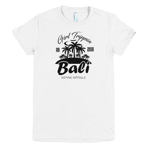 Bali Girls Trip Custom - Short sleeve women's t-shirt