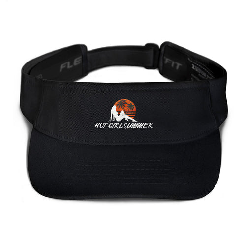 Hot Girl Summer - (Black) Visor
