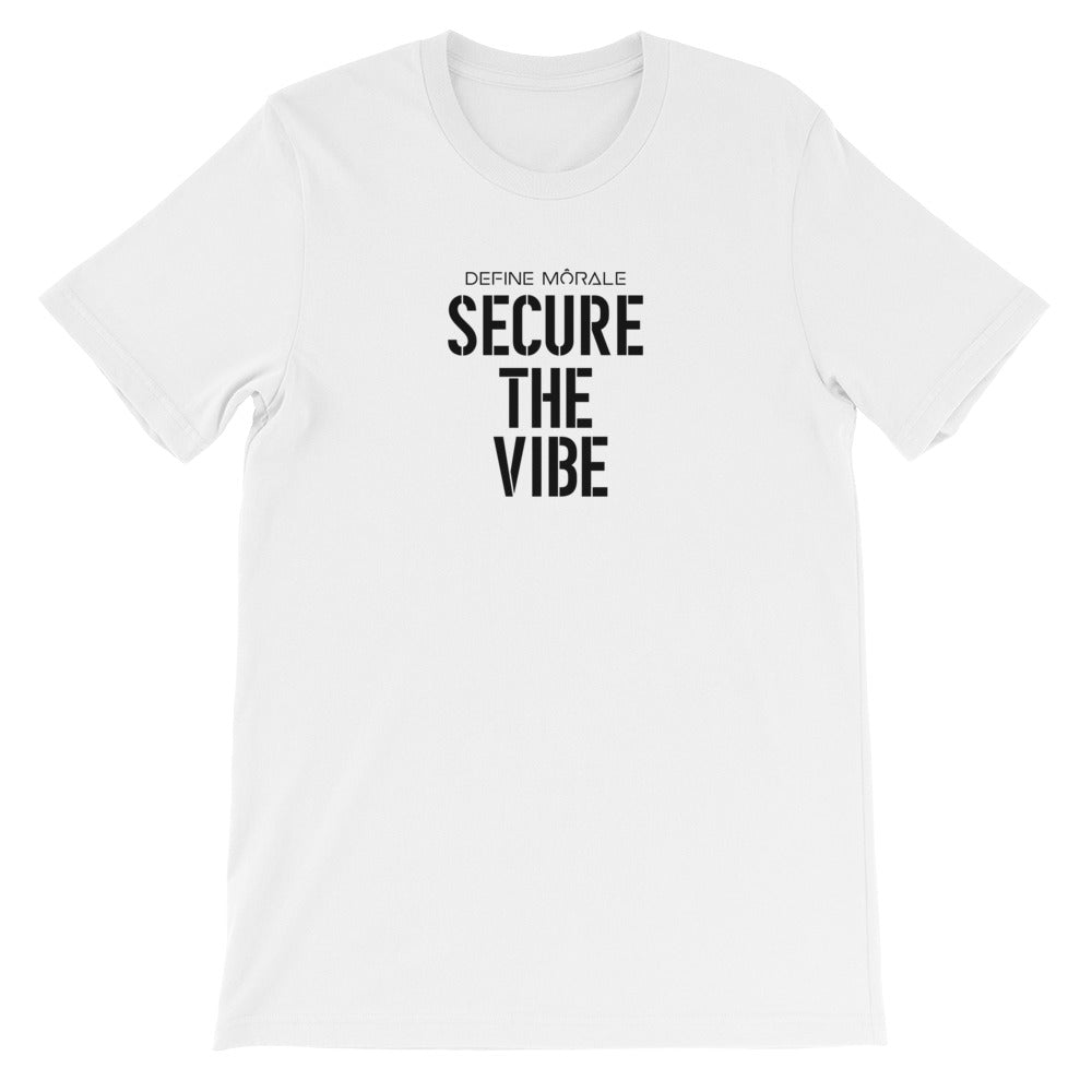 Secure The Vibe - Short-Sleeve Unisex T-Shirt Light