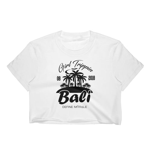 Bali Girls Trip Custom - Women's Crop Top