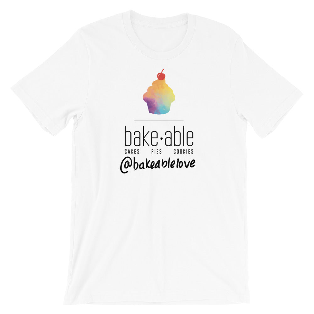 Bakeable - (White) Short-Sleeve Unisex T-Shirt