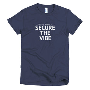 Secure The Vibe - Short Sleeve Women's T-shirt Alt