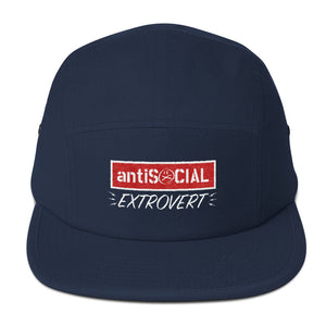 Anti Social Extrovert - Five Panel Cap