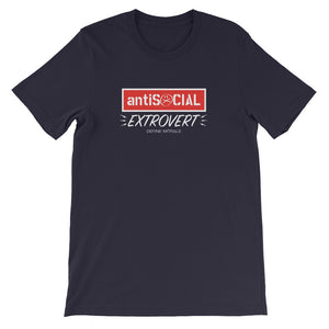 Anti Social Extrovert - Short-Sleeve Unisex T-Shirt