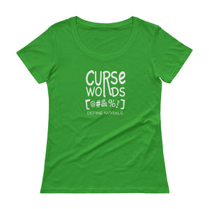 Curse Words - Ladies' Scoopneck T-Shirt