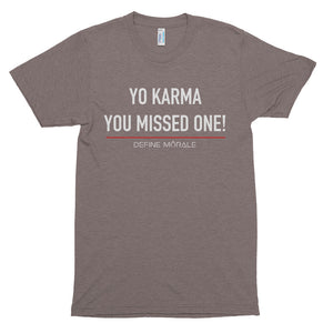 Yo Karma - Short sleeve soft t-shirt
