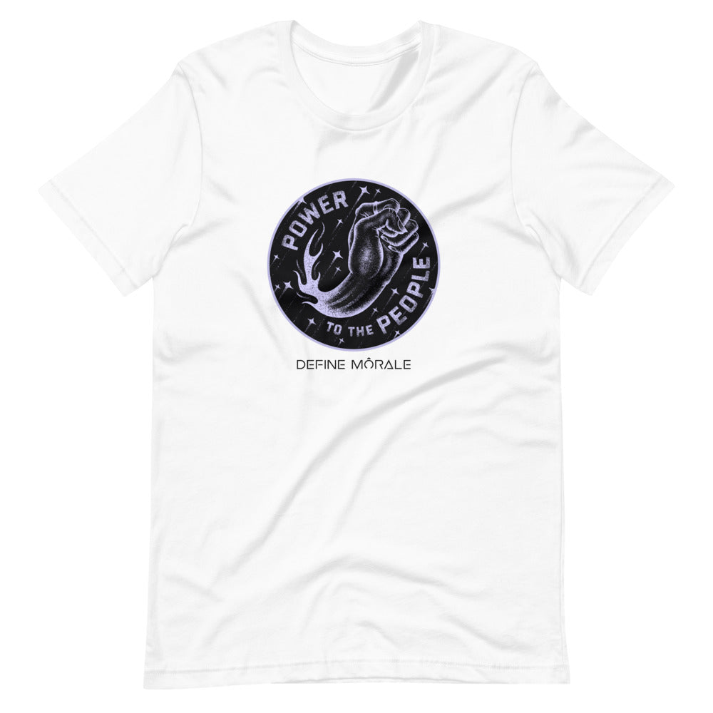 Power People (White) - Short-Sleeve Unisex T-Shirt