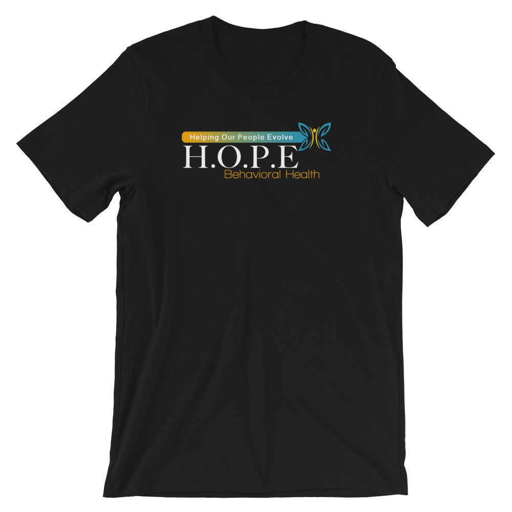 HOPE - (Black) Short-Sleeve Unisex T-Shirt