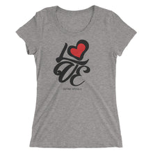 Love Formation - Tri Blend Ladies' Short Sleeve T-shirt