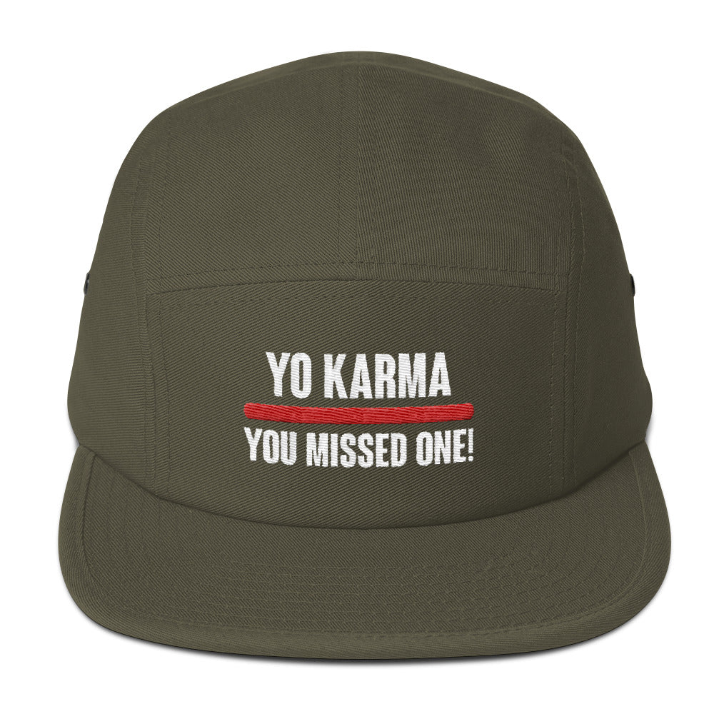 Yo Karma - Five Panel Cap