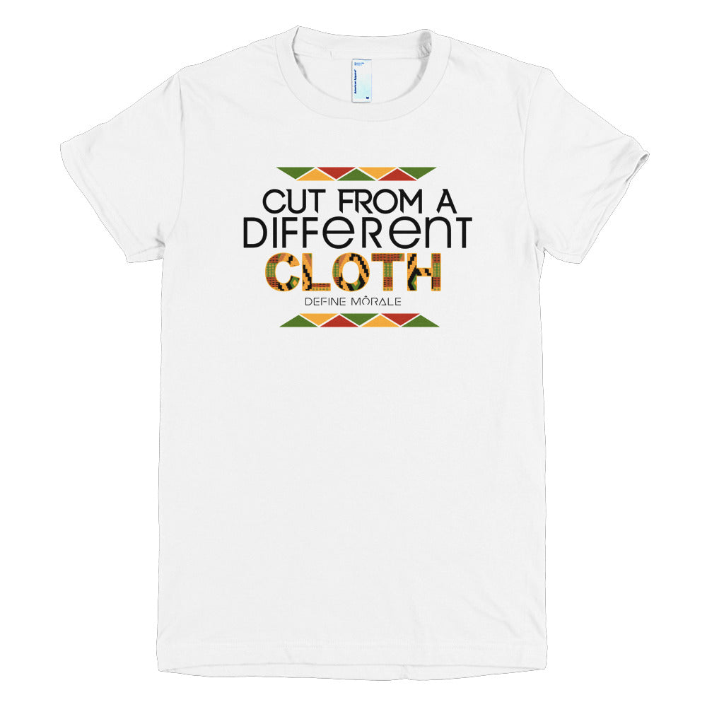 Different Cloth - (White) Short sleeve women's t-shirt