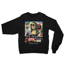 Open Your Mind - Unisex Raglan Fleece