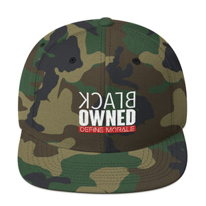 Black Owned - Snapback Hat