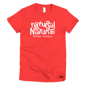 Natural By Nature - Short sleeve Women's T-Shirt
